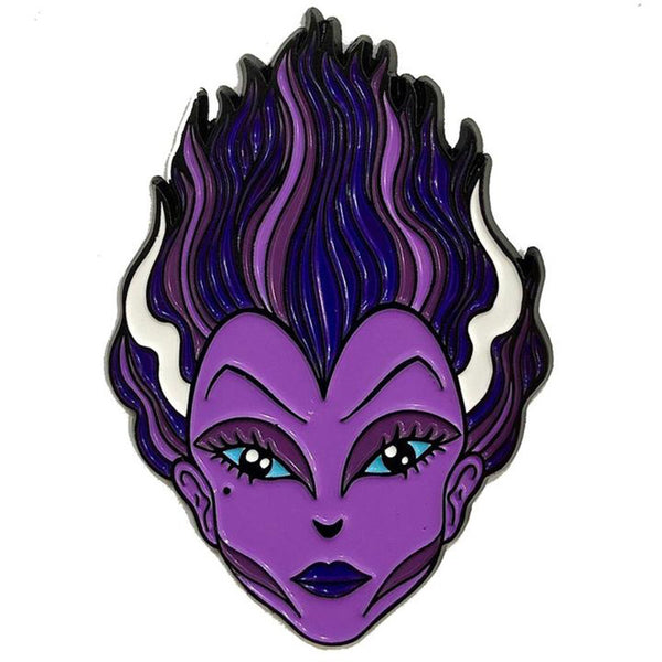 Graves Monster Purple Bride Enamel Pin