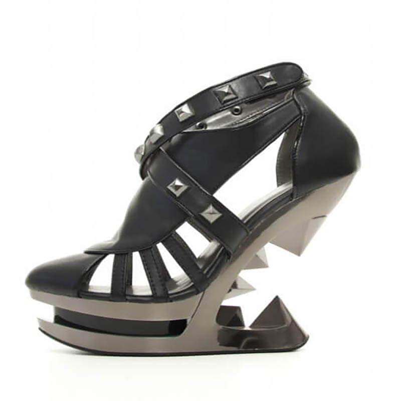 Size 10 - Krace Studded Anti Gravity Heel