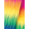 Rainbow Pride Furry Leg Warmers
