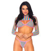 Rainbow Pride 3 Piece Bikini Set