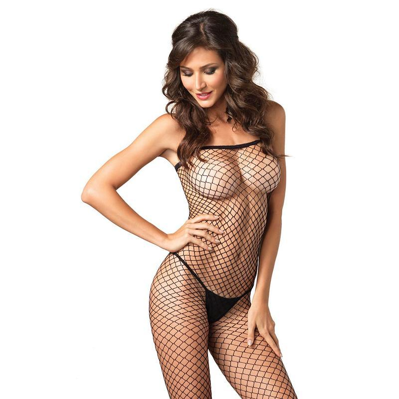 Industrial Fishnet Bodystocking