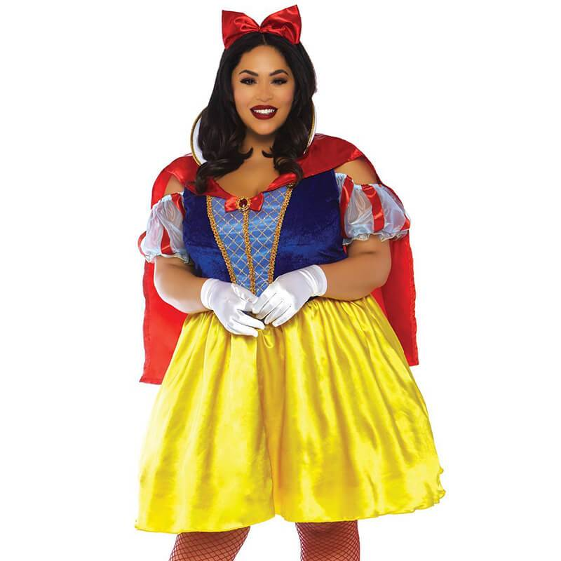 Caped Snow White Costume