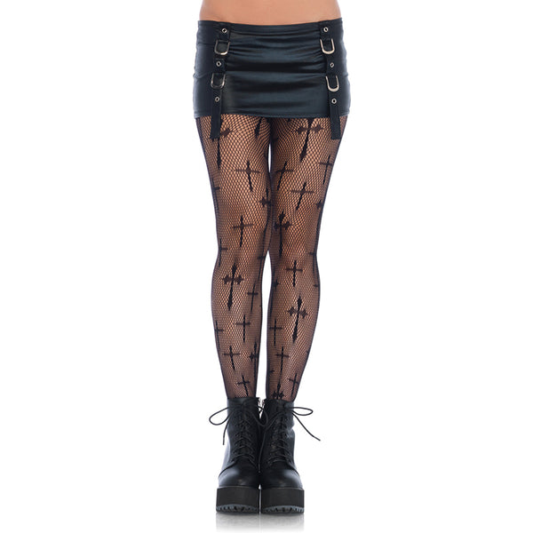 Gothic Crosses Pantyhose
