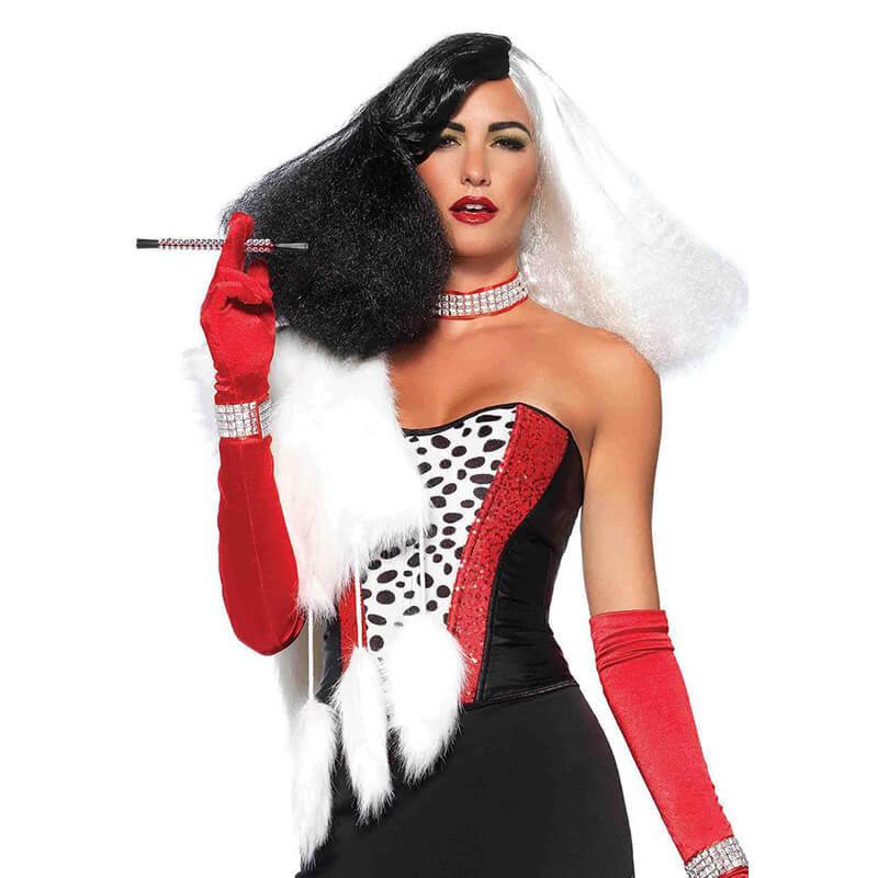 Diva Disco Wig in Cruella