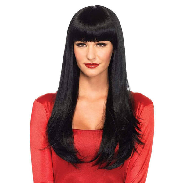 Bangin' Long Straight Wig - Black