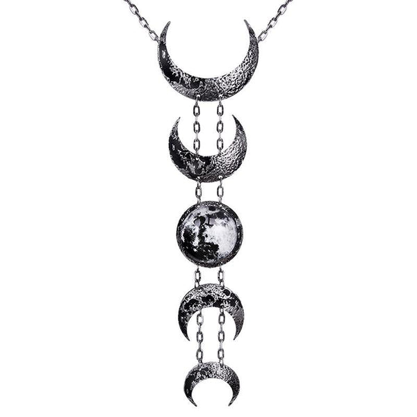 Mother Maiden Lunar Necklace