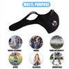 Playa Ready Filtering Blue Cycling Mask - IN STOCK