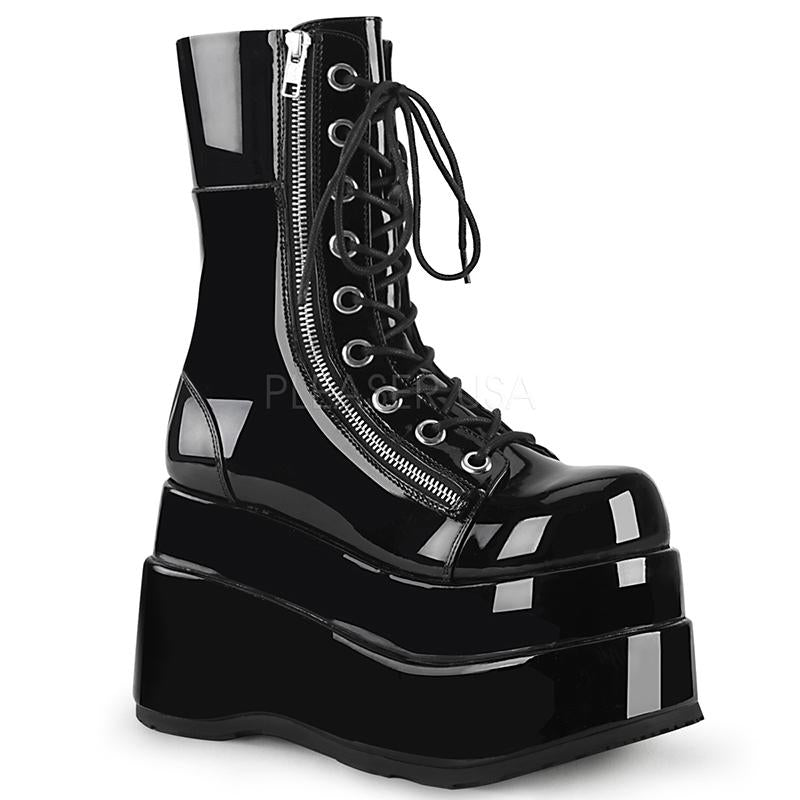 Dropkick Patent Black Stompers