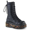 Emily Stomper Boots - Leopard