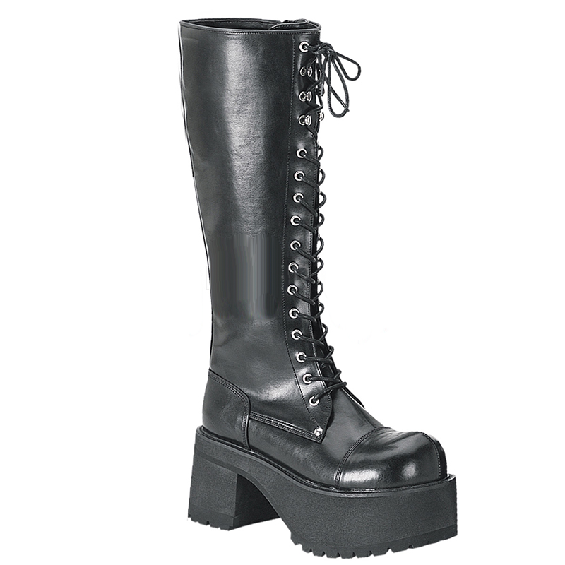 Elevated Ranger Knee High Boots