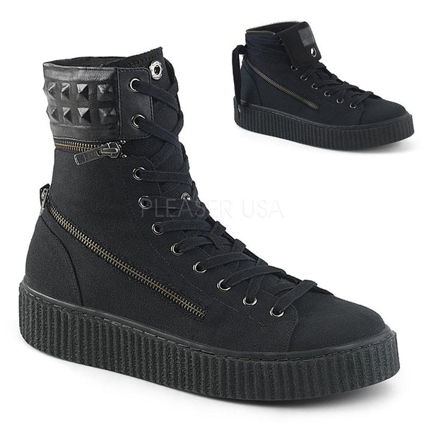 Mercenary Zipped Creeper Sneakers