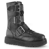Midnight Run Buckled Mid Calf Boots