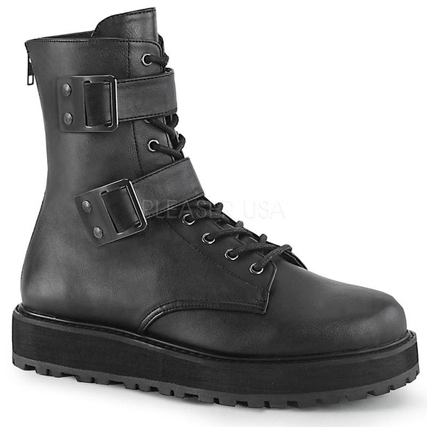 Midnight Run Strapped Ankle Boots