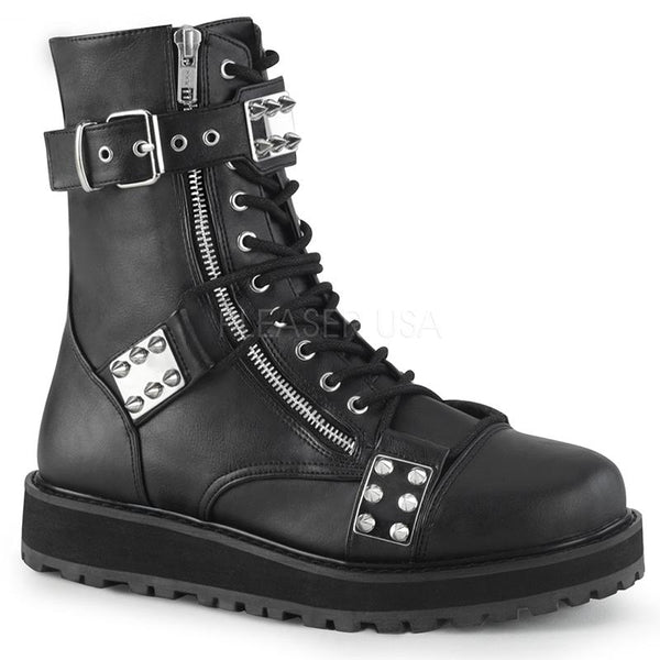 Midnight Run Studded Ankle Boots
