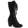 Victorian High Class Steppers - Black Velvet