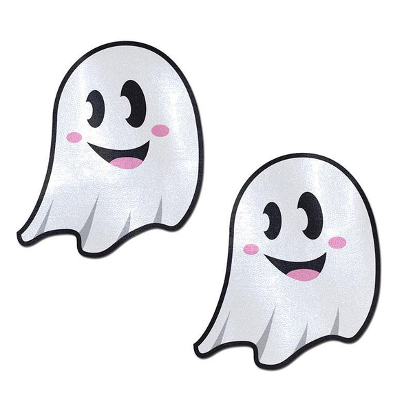 White Cute Ghost Nipple Pasties