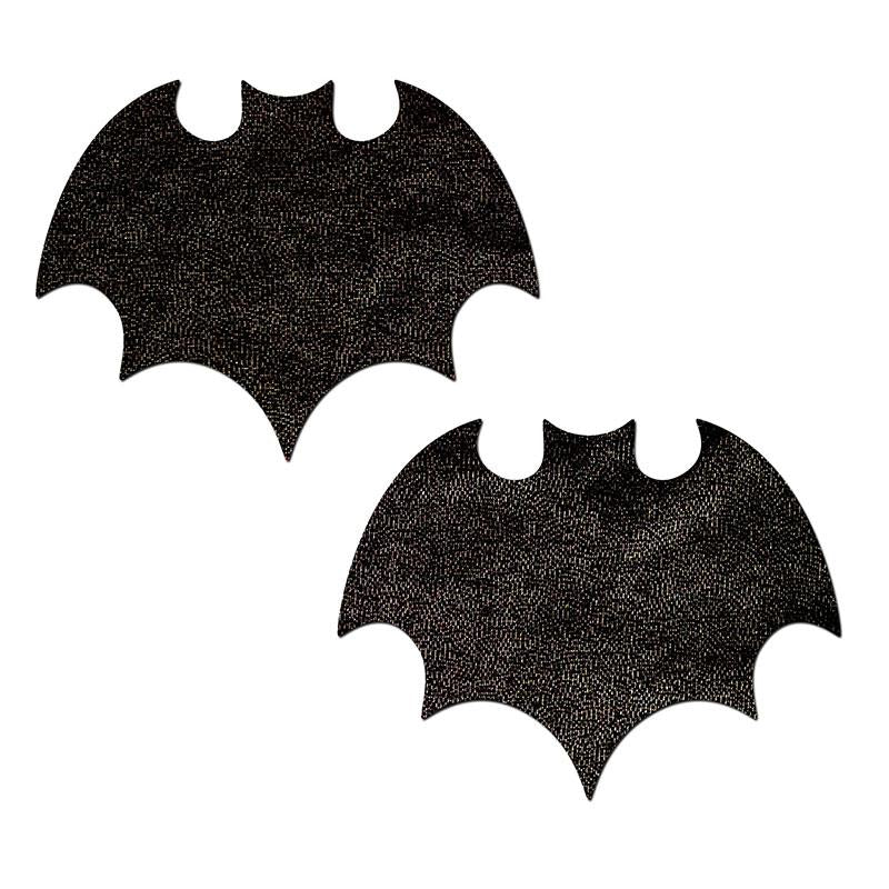 Vampire Bat Liquid Black Nipple Pasties
