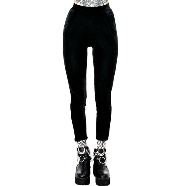 Velvet High Waist Leggings