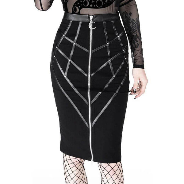 Size S - Crescent Bind It Pencil Skirt