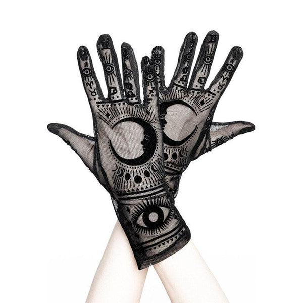 Fortune Teller Mesh Gloves