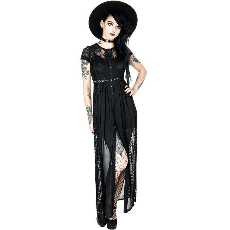 Dark Grace Dress - Black