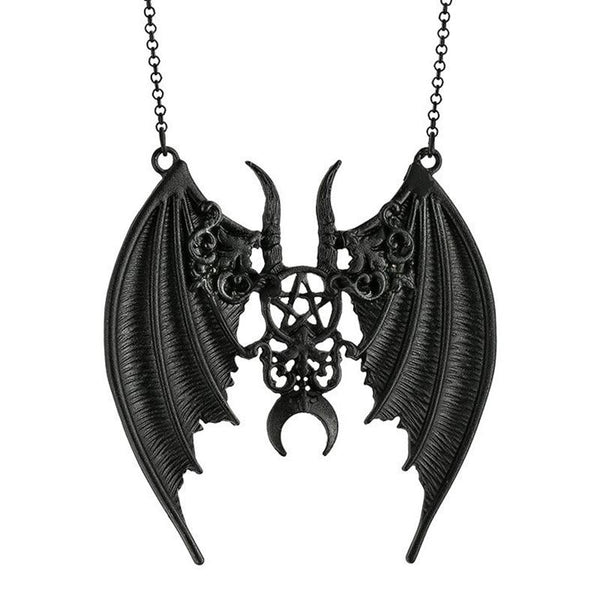 Maleficent Winged Pendant