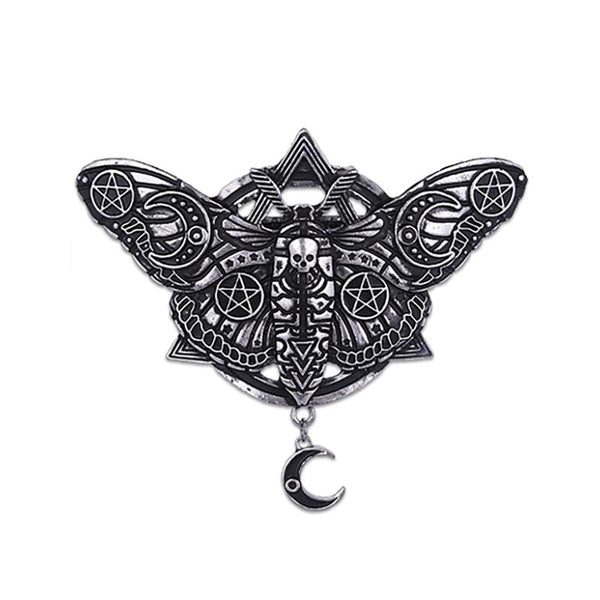 Occult Moth Hair Clip