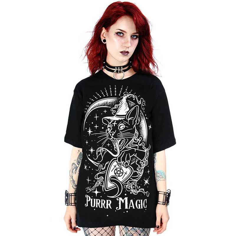 Purrr Magic Oversized T-Shirt