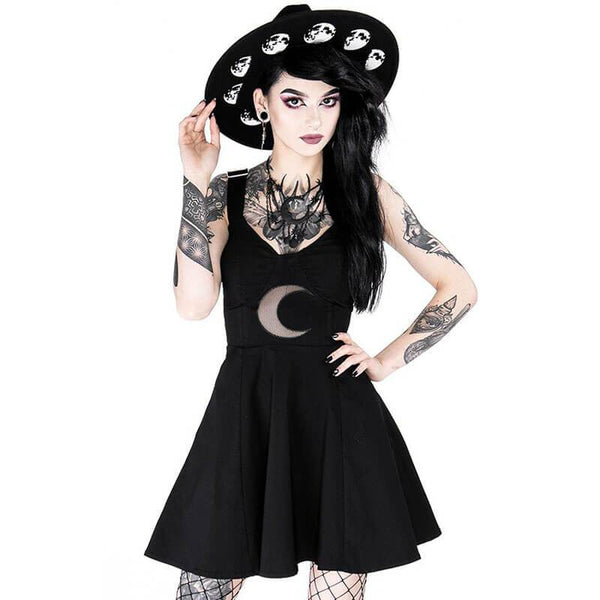Shape of the Moon Dress