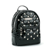 Black Glitter Unicorn Studded Backpack Purse  (IN STOCK)