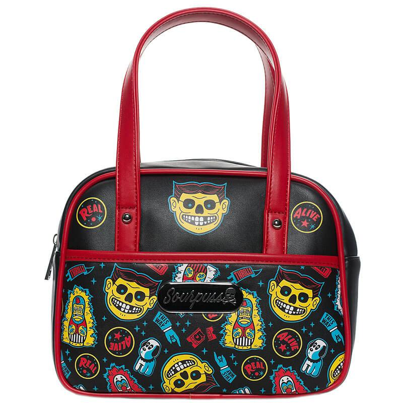 Freakshow Mini Bowler Purse