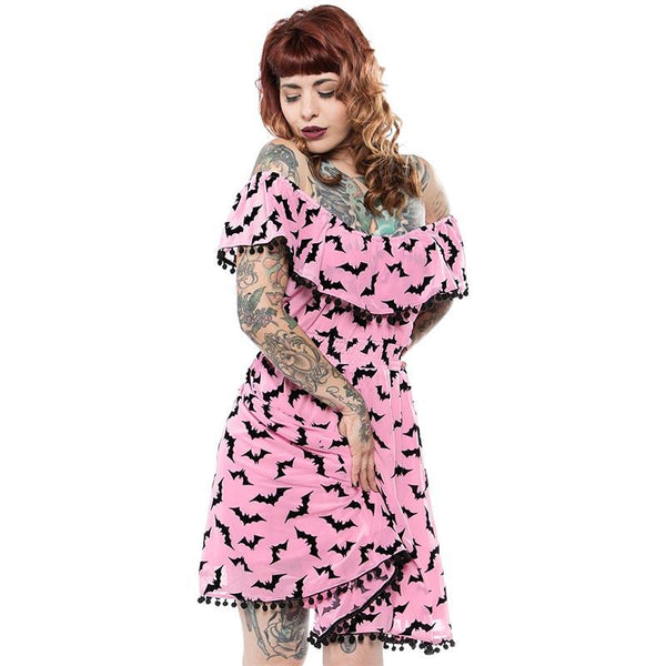 Luna Bats Fiesta Dress