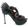 Size 10 - Sky Captain Steampunk Pirate Heel