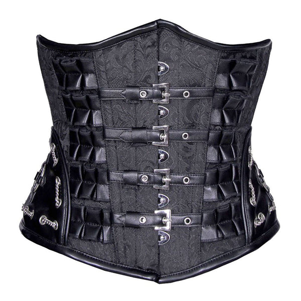 Chained & Bound Underbust Corset