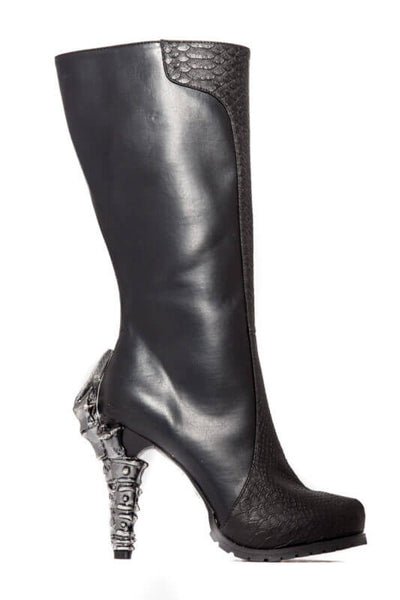 Size 9 - Willow Black Snakeskin Boots