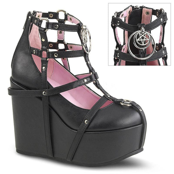 Caged Heart Platforms - Black Occult