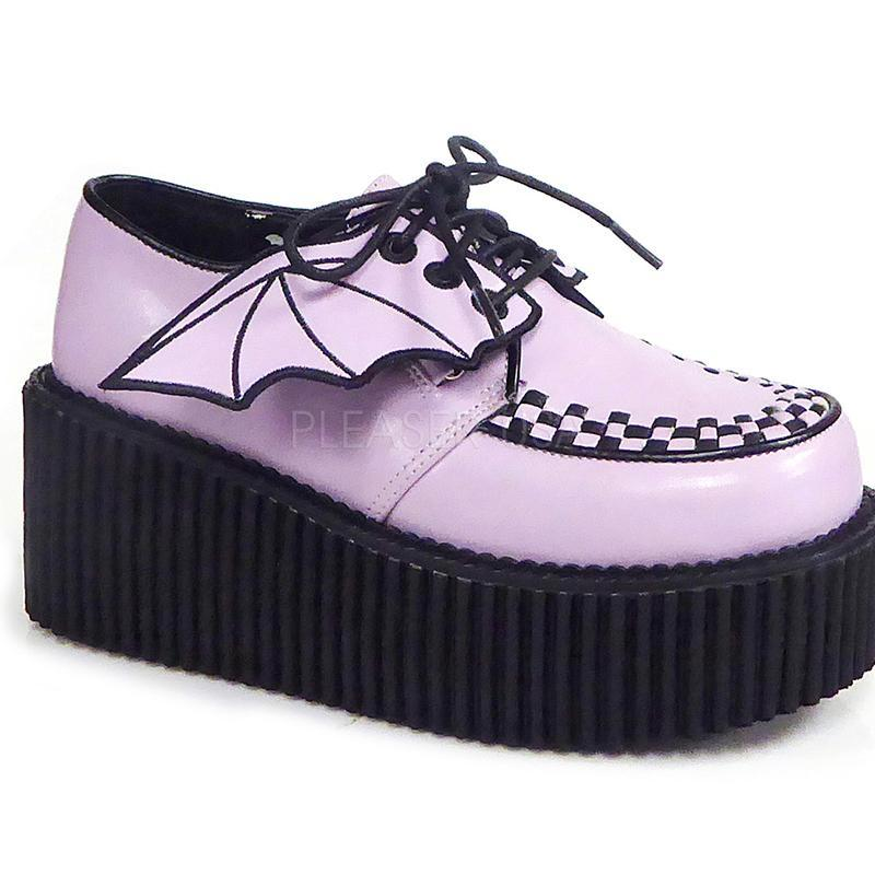 Batty Glittered Creepers - Pink