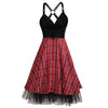 Crossed Rockabilly Dress