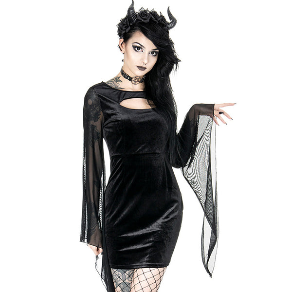 Sorceress Queen Velvet Dress