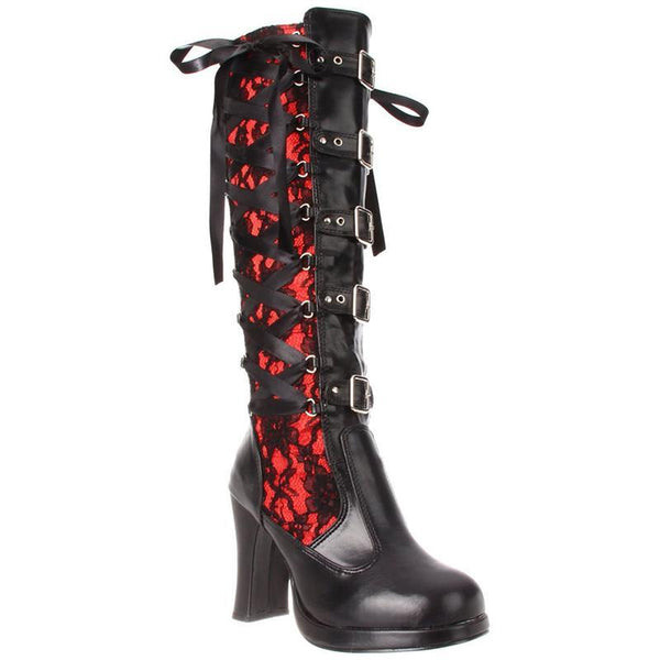 Gothic Lacers Heeled Boots