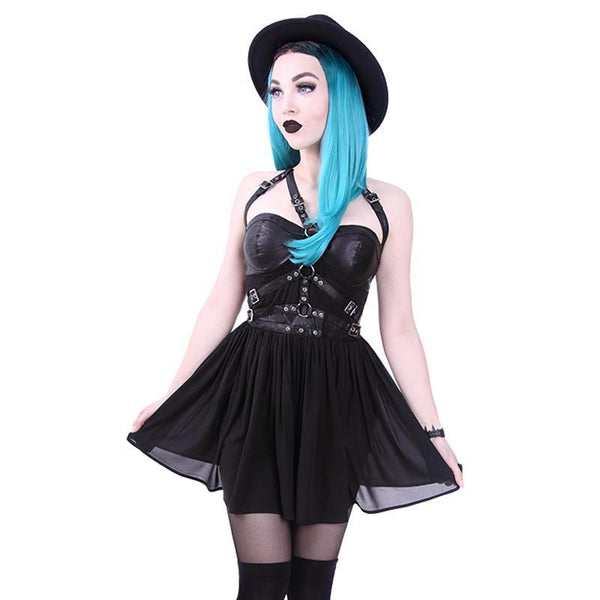 Buckle Up Chuck Harness Dress