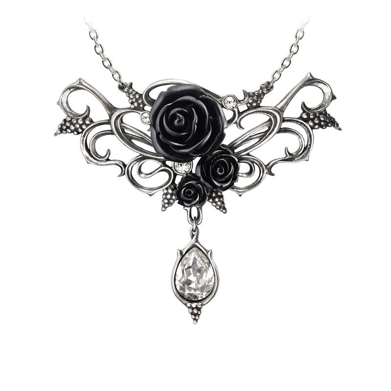 Knight's Rose Kiss Pendant