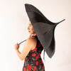 Morticia's Pagoda Umbrella - Black