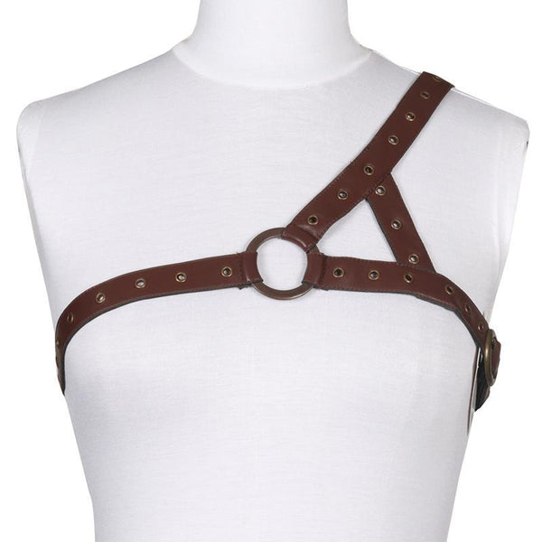 Single Shoulder Harness - Mocha