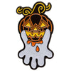 Pumpkin Ghost Enamel Pin