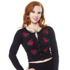 Rose Garden Cropped Cardigan