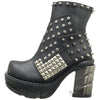 Studded Warrior Ankle Boots