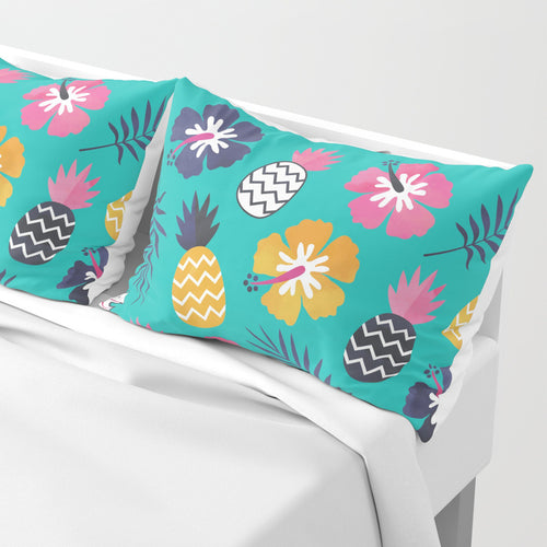 Tropical Summer Pillow Sham Decorate your Bedroom