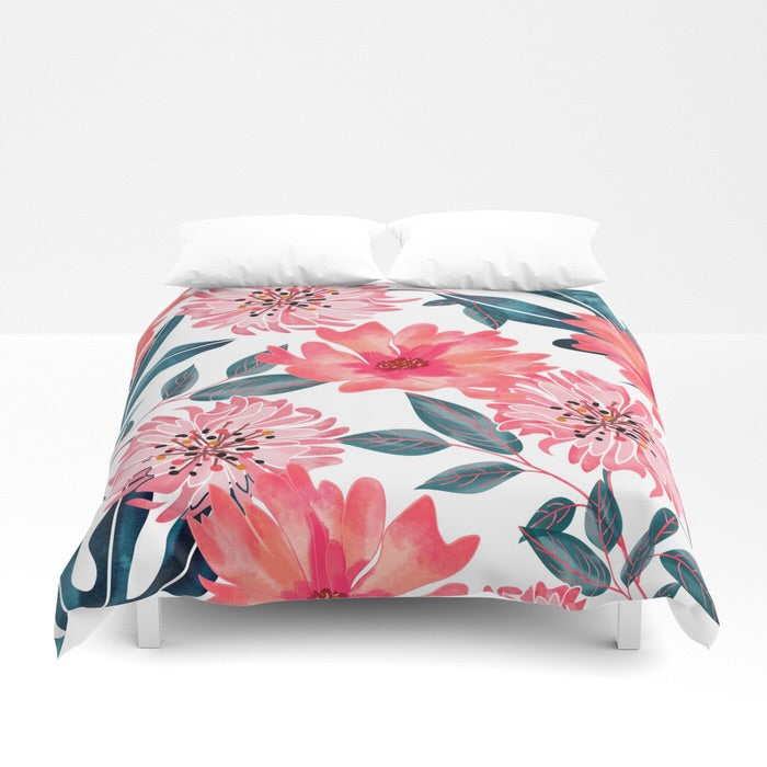 Excellent Pink Flowers Duvet Cover | Home Decor Designs for You – www  JT84