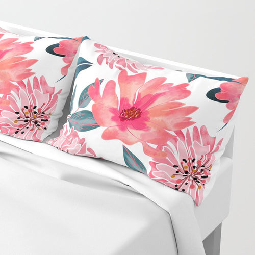 Magical Flower Set of 2 Pillow Sham | Decorate your Bedroom